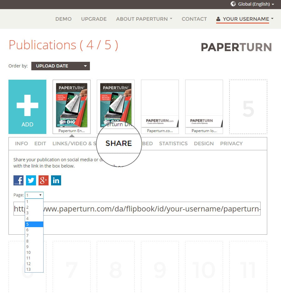 How To Share Pdf Flipbook On Social Media For More Viewers
