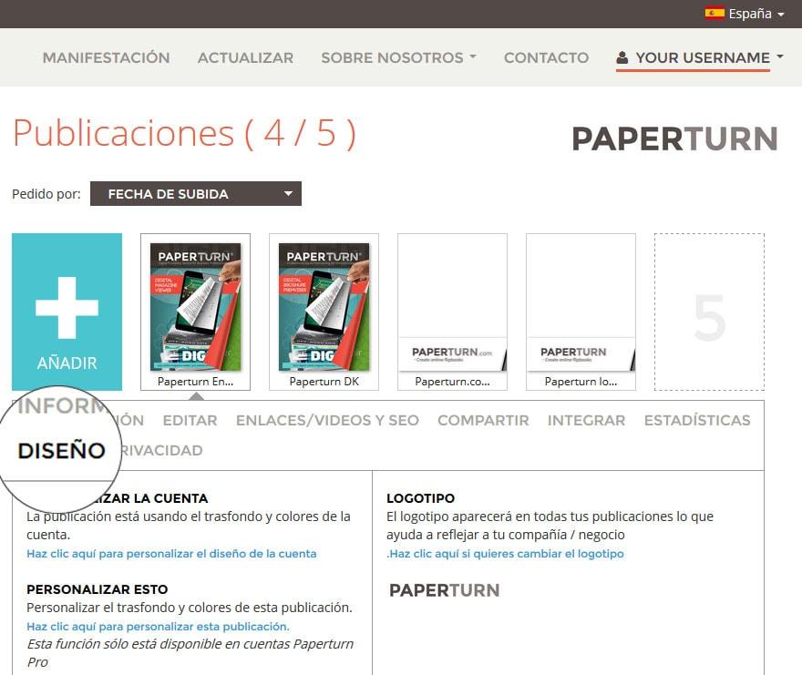 Trasfondos y colores - Diseño general o específico para tus libros ...